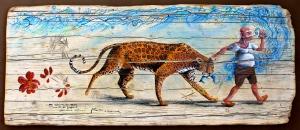 """""""Nei capanni da pesca, manti di giaguaro usati come reti"""""""