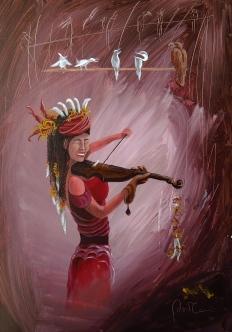 """La violinista mancina"""