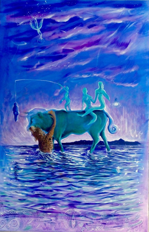 Bacco Artolini painting art collection Exodos Crete Heraklion 2016