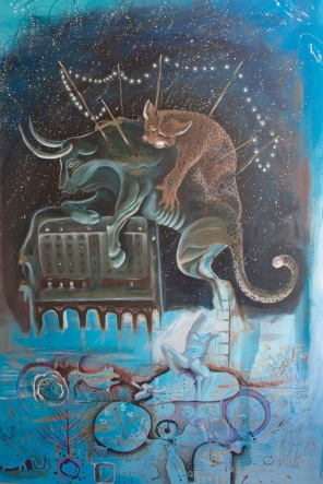 arte painting n_3 Grecia Bacco Artolini