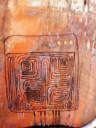 (detail) Minotaur panel - Crete 2016