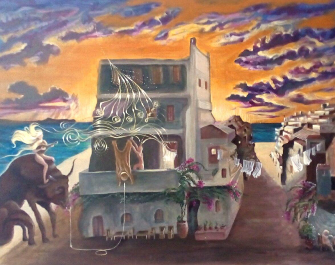 "Bacco Artolini-""Morning glory""- collection ""Exodos"" Crete 2016"