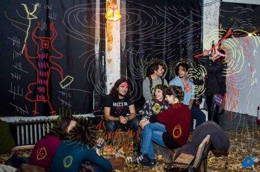bacco artolini Spartaco sala espositiva sala bruciata
