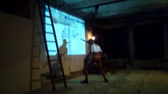 Onico Giannetta Performance Ravenna 2017 art Spartaco
