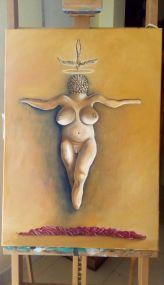 Bacco Artolini dipinto olio 3