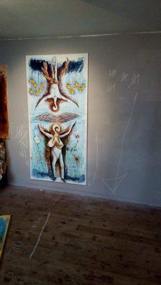 """ Incontro di Icaro con Afrodite"" Berlin 2017"