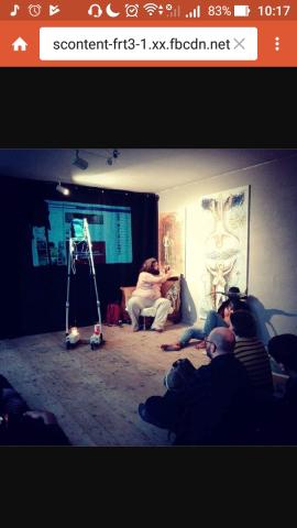 Berlin performance bacco artolini digital walpurgish night