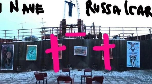 furto nave russa Ravenna