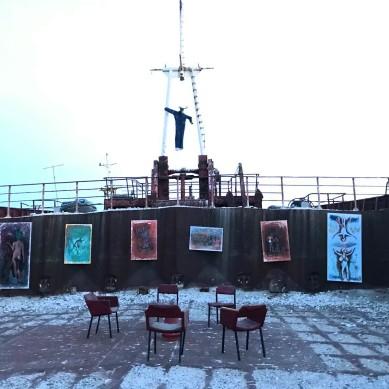 Nave russa arte a Ravenna 3