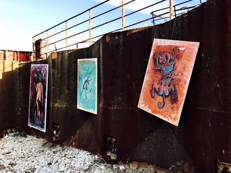 Ravenna mostra arte nave vomv gaz Bacco Artolini