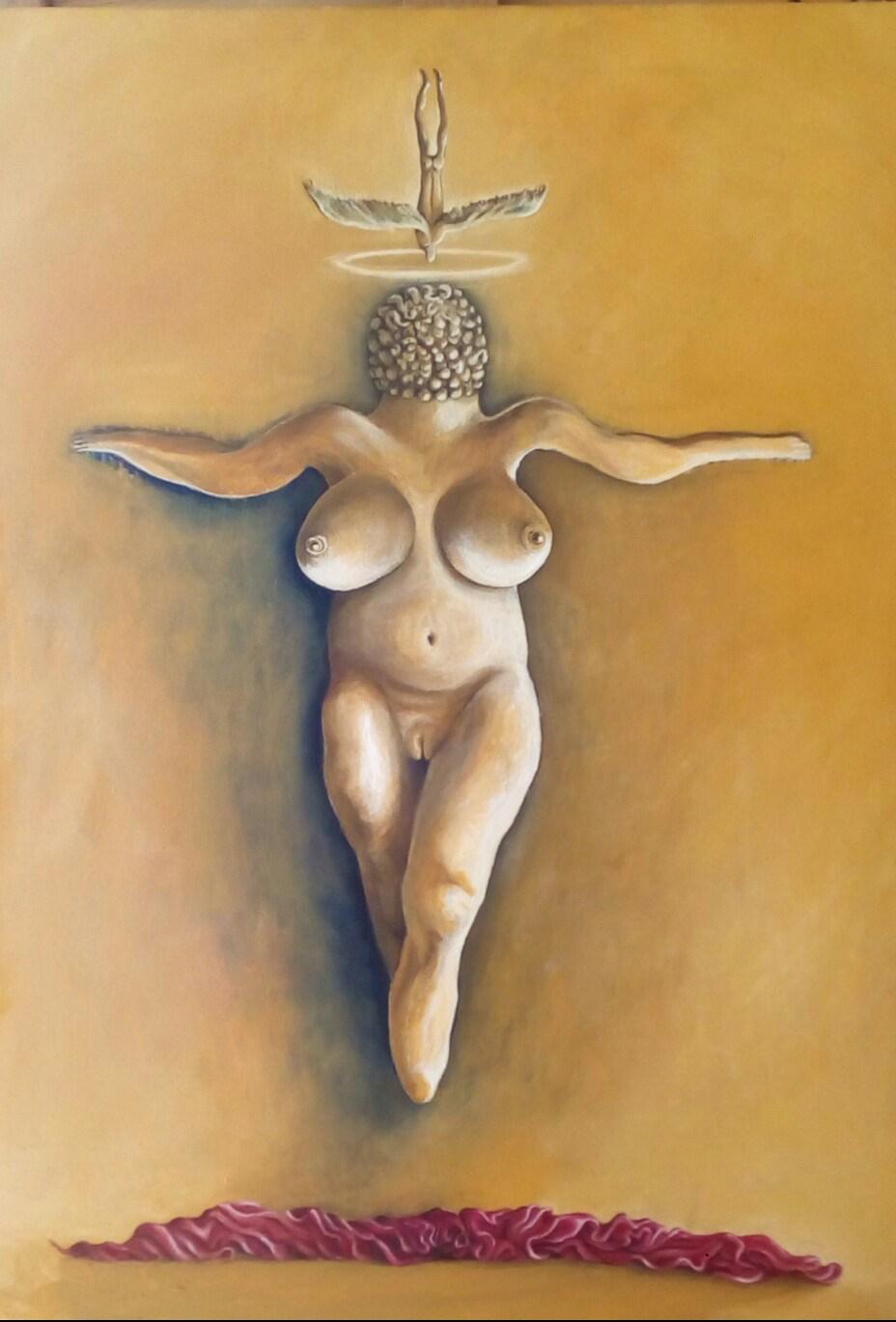 dipinto_ orgasmo Venere_Bacco Artolini