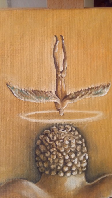 Bacco Artolini dipinto olio 3 particolare 3
