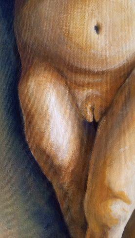 Bacco Artolini dipinto olio 3 detail
