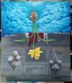 Bacco Artolini Dipinto olio 4