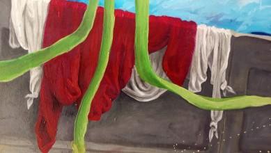 Bacco Artolini Dipinto olio 4 particolare 3