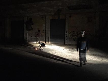 darsena Ravenna Icaro Vitruviano Bacco artolini performance