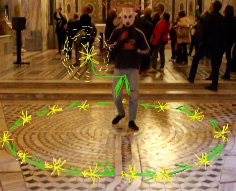 San Vitale Ravenna performance onico giannetta