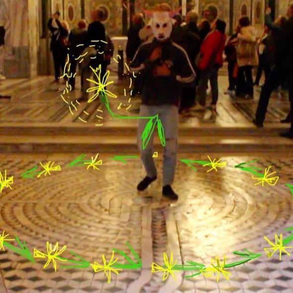 San Vitale Ravenna performance Icaro