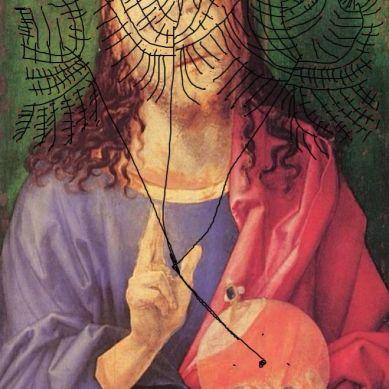 "intervento Bacco Artolini su Albrecht Durer ""Salvator mundi"""