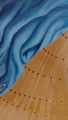 oil painting detail Bacco Artolini