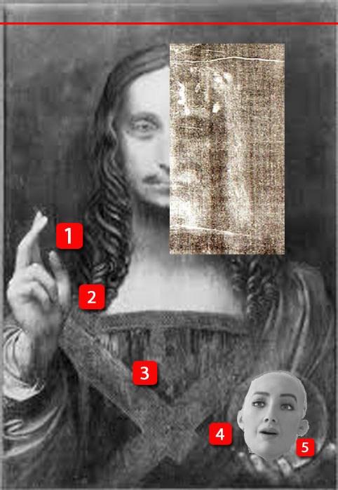 Salvator Mundi Leonardo Vinci Lorenzo Mancini