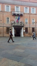 Ravenna-Piazza del Popolo- Performance3- Onico Giannetta