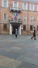 Ravenna-Piazza del Popolo- Performance10- Onico Giannetta