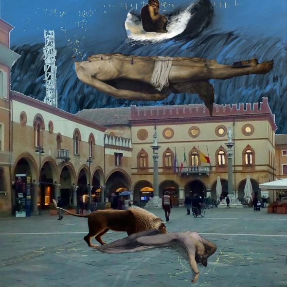 Ravenna- Piazza popolo- Moreni- Samorì- Fuseli
