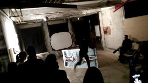 arte atto distruttivo Onico performance bacco artolini