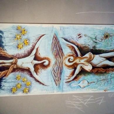 Bacco Artolini Berlino dipinto distrutto Street art