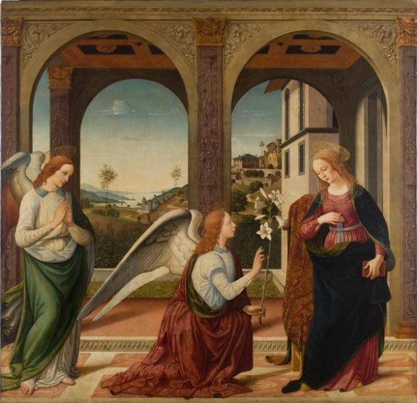 Annunciazione- Biagio D'Antonio ( 1475 circa)