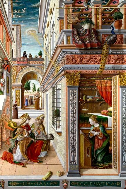 Annunciazione- Caroli Crivelli ( 1486)