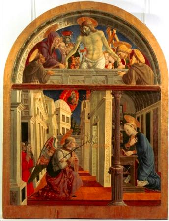 Annunciazione- Giovanni Angelo D'Antonio ( 1455)