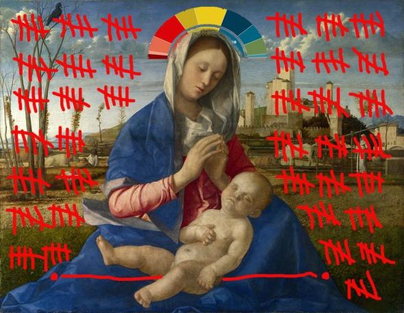 intervento Bacco Artolini dipinto arte Giovanni Bellini