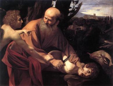 Caravaggio- Abramo isacco