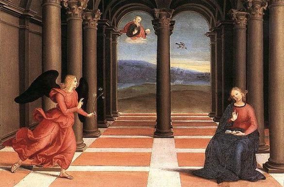 Pala degli Oddi- Raffaello Sanzio ( 1502 )