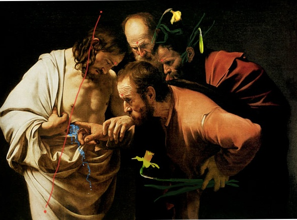 arte Bacco Artolini Caravaggio Experience San Tommaso (1601)