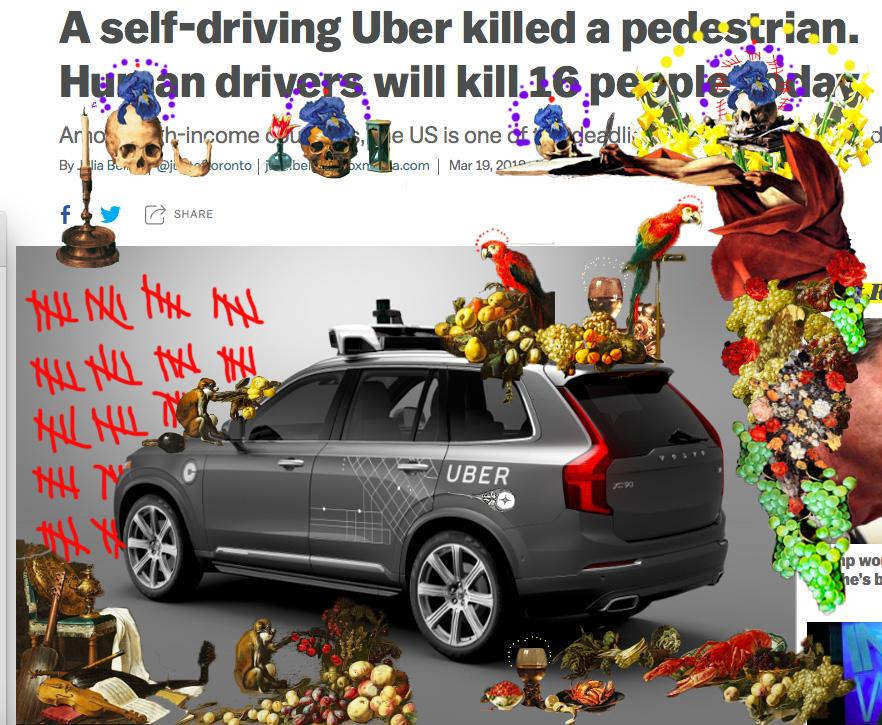 Remix Uber crash America