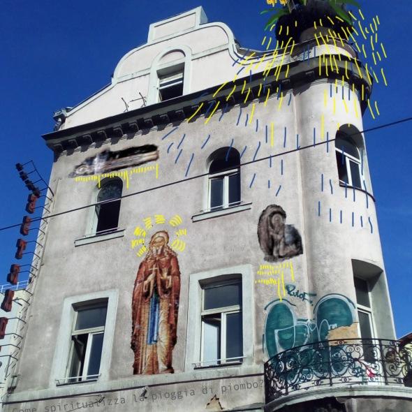 Bacco Artolini street art project Sarajevo Bosnia