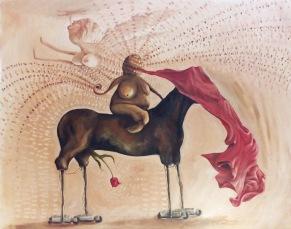 Sarajevo art painting Bacco Artolini