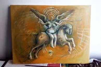 Bacco Artolini art painting Sarajevo