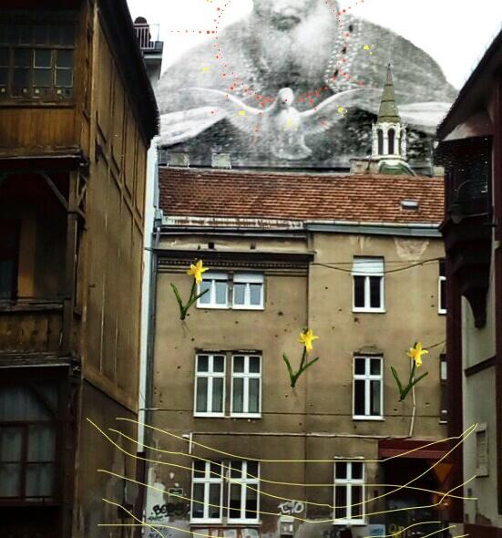 Bacco Artolini Sarajevo street art