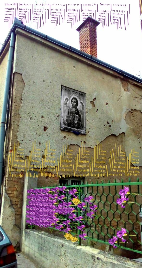 Bacco artolini street art Sarajevo