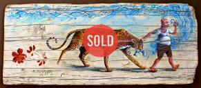 sold Nei capanni da pesca manti di giaguaro usati come reti