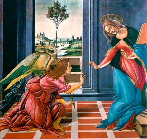 Annunciazione- Botticelli (1489-1490)