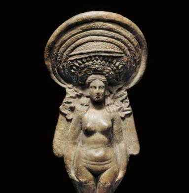 Isis:Aphrodite- terracotta greco-egiziana 3° sec ac