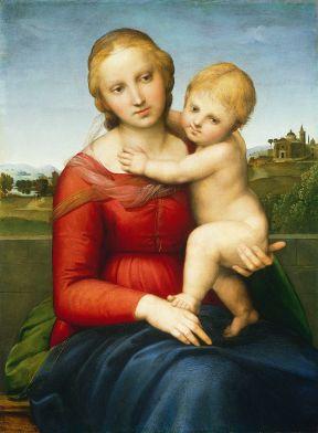 Madonna Cowper piccola -Raffaello (1505)