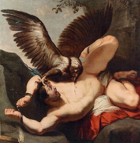 Prometeo incatenato- Rubens? (1577-1640)