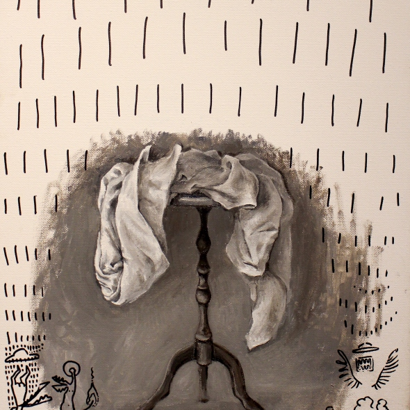 Bacco Artolini painting Gravità touchscreen 2018