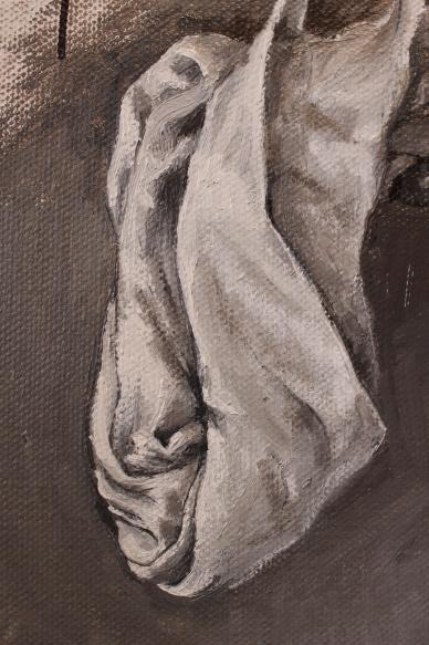 Bacco Artolini detail art painting Gravità touchscreen 2018